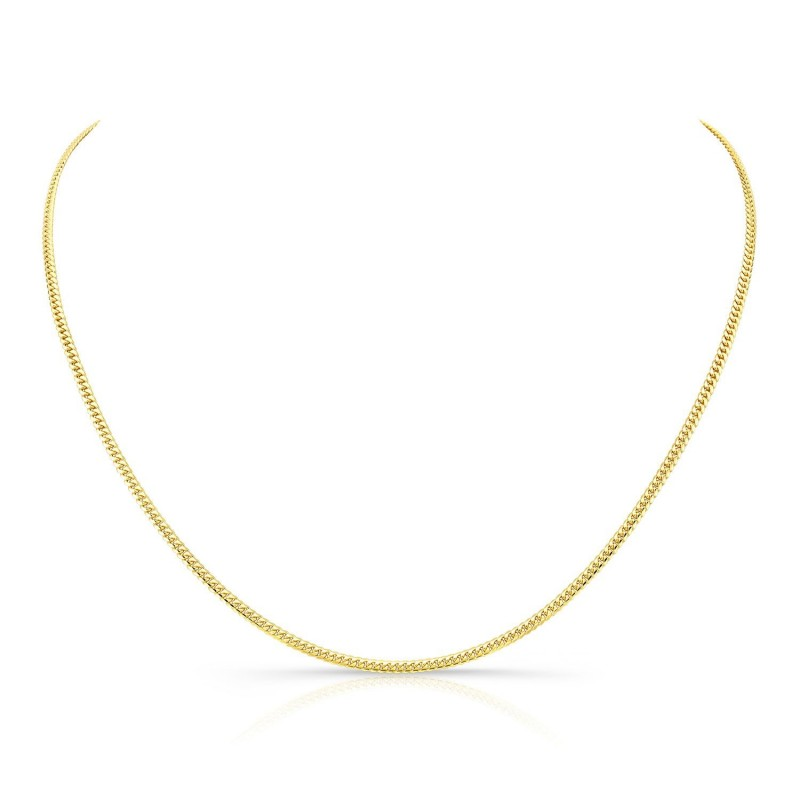 14k Yellow Gold Mini Miami Cuban Necklace