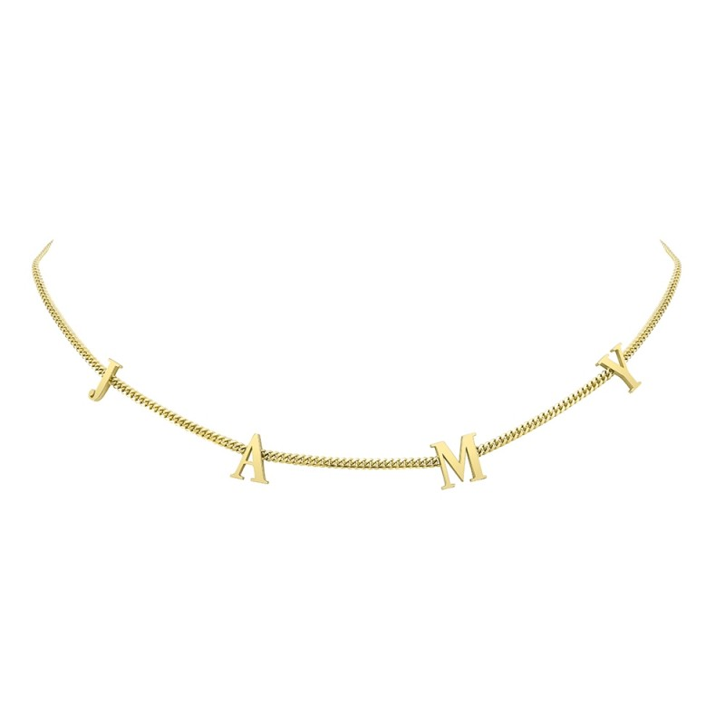 14k Yellow Gold Mini Miami Cuban Necklace