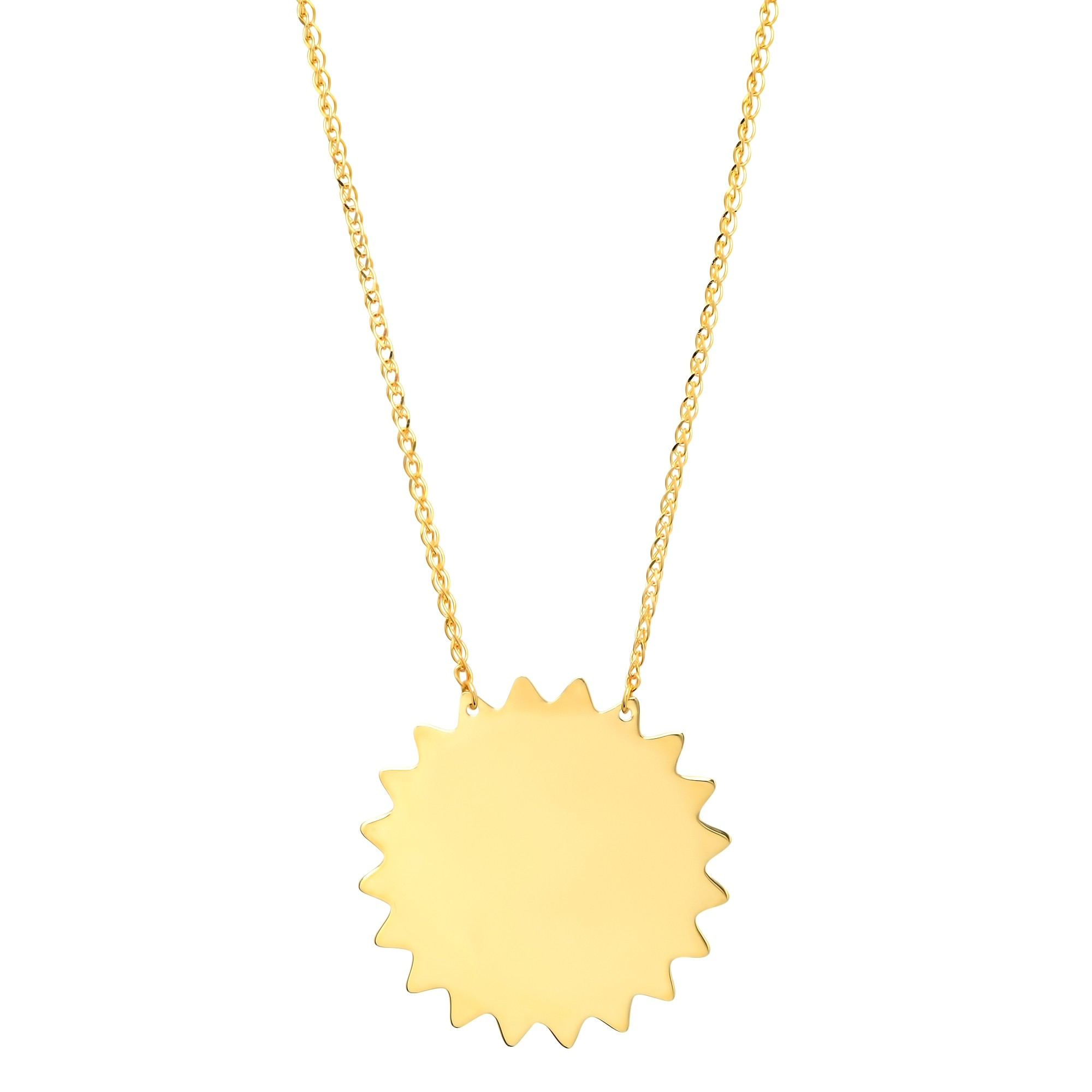 with long summer sol boho jewelry products original small sun necklace