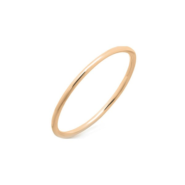 14k Rose Gold Stackable Waif Ring