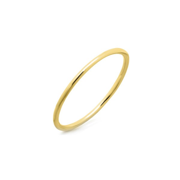 14k Yellow Gold Waif Stack Ring